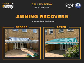 Awning Repairs and Recovers shops and homes